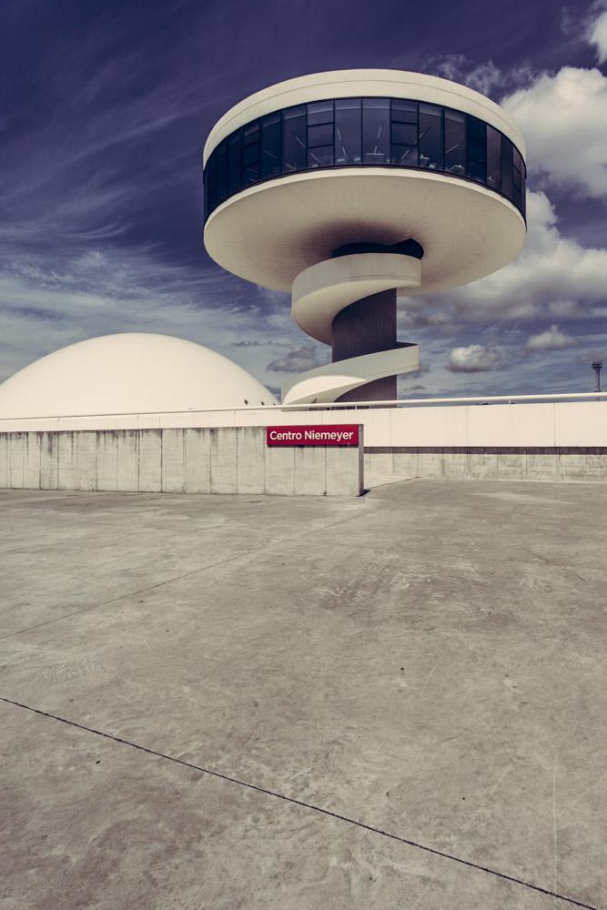 Centro Cultural Niemeyer, Aviles. Asturias
