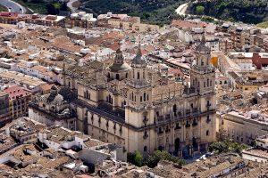 Fotografía que muestra una vista aérea de la Catedral